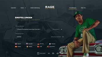 GTA: RAGE Multiplayer Gameserver mieten